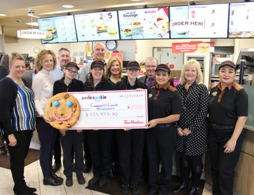 Tim Horton's Smile Cookie Campaign Raises Record $121,975!