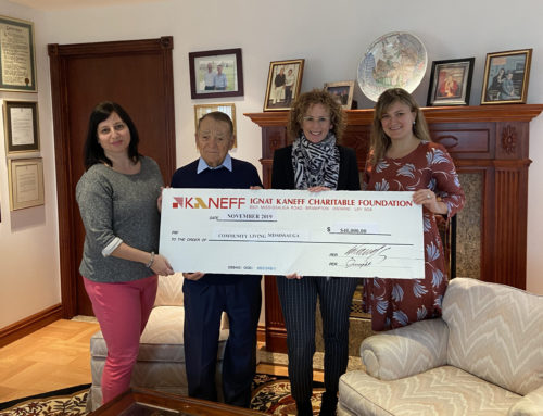 I. Kaneff Charitable Foundation Donates Proceeds from Annual Golf Tournament to Community Living Mississauga