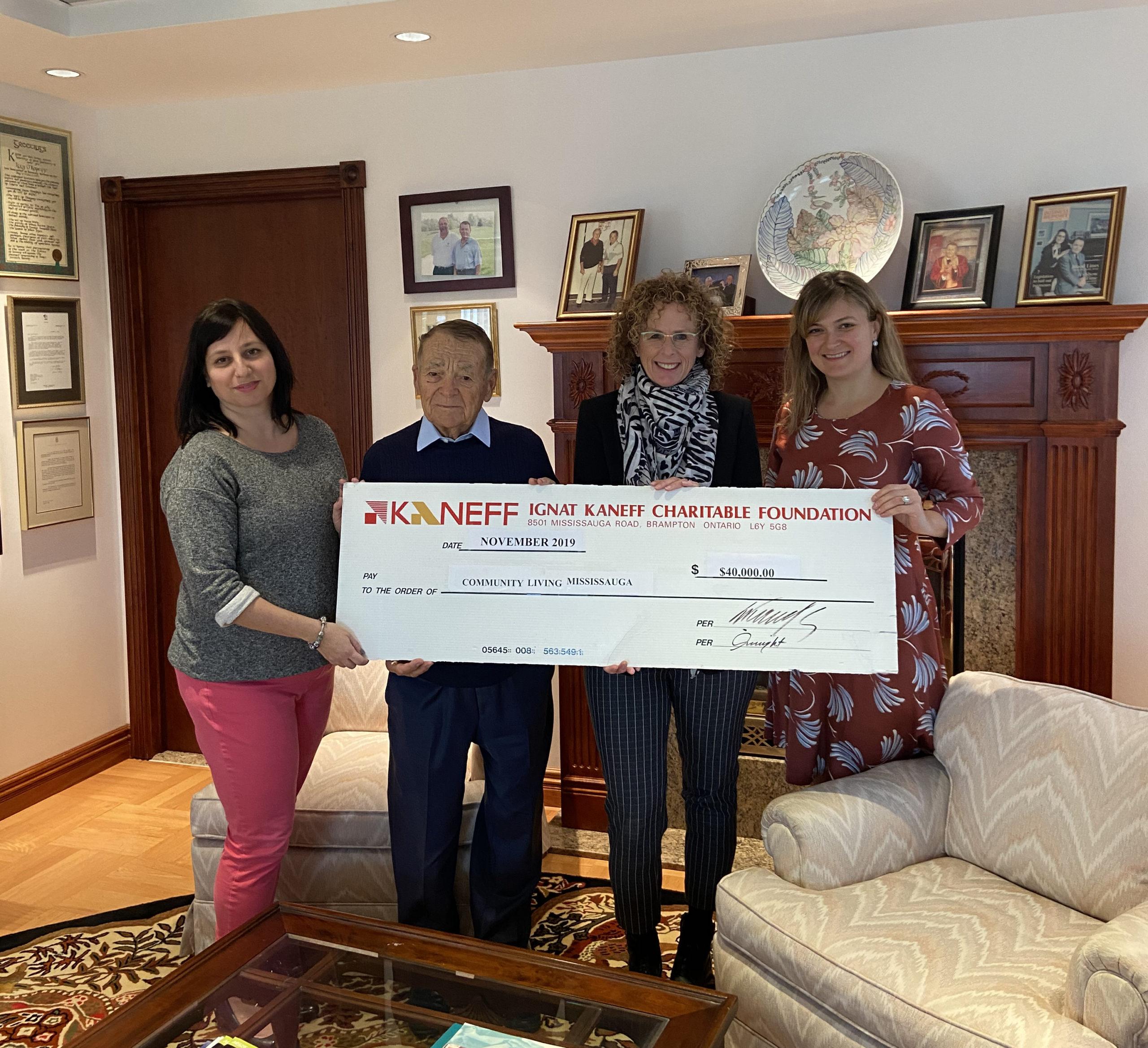 Kaneff donation 2019