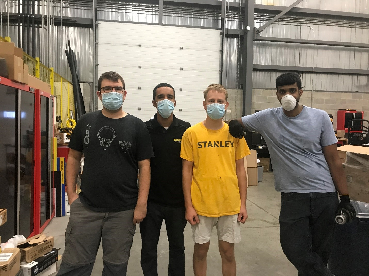 Employees at Stanly BlackandDecker