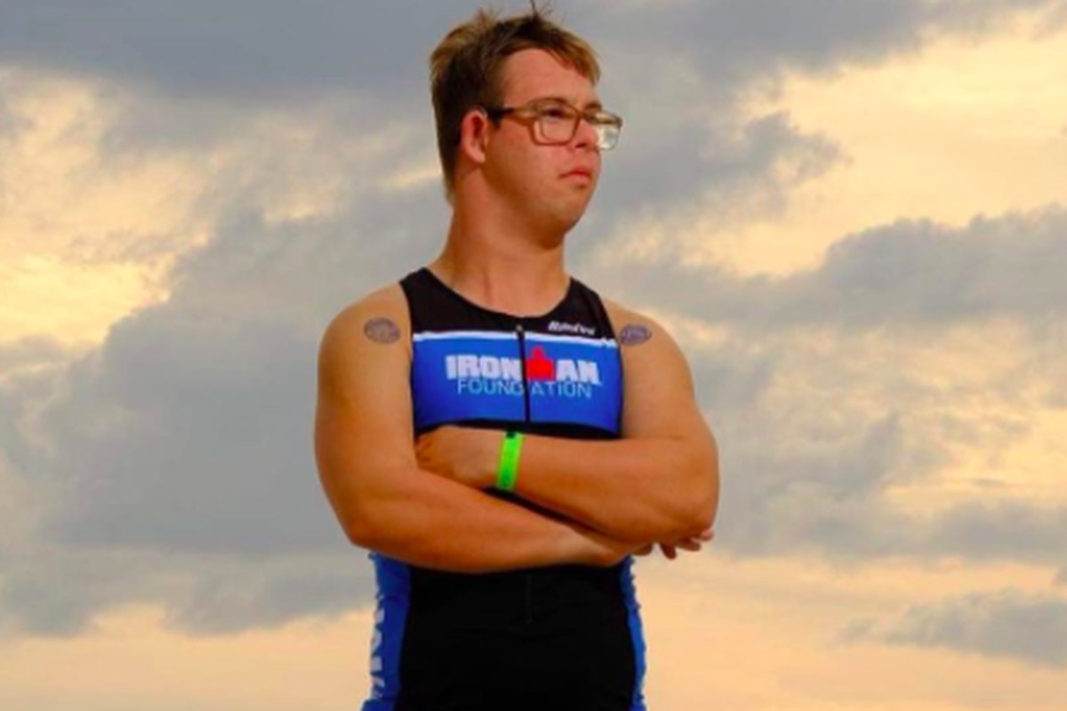 Man With Downs Syndrome Competes in Ironman Competition