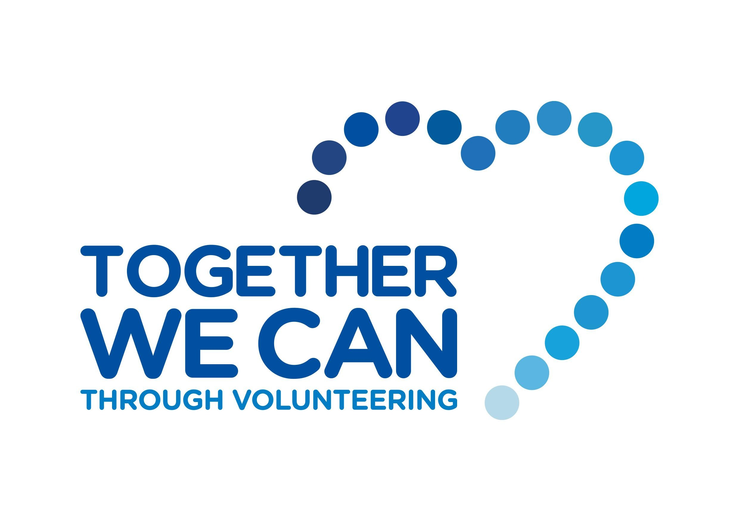 Together We Can Through Volunteering Logo