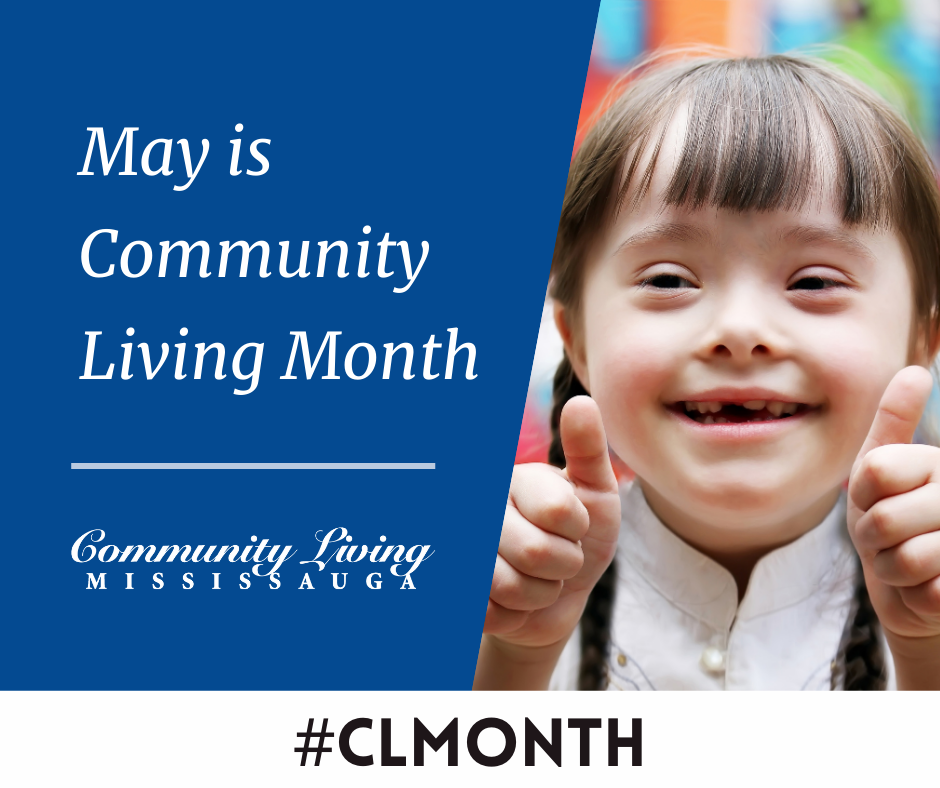 2021 Community Living Month Girl Giving Thumbs Up