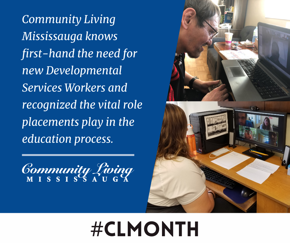 2021 Community Living Month People on Computers
