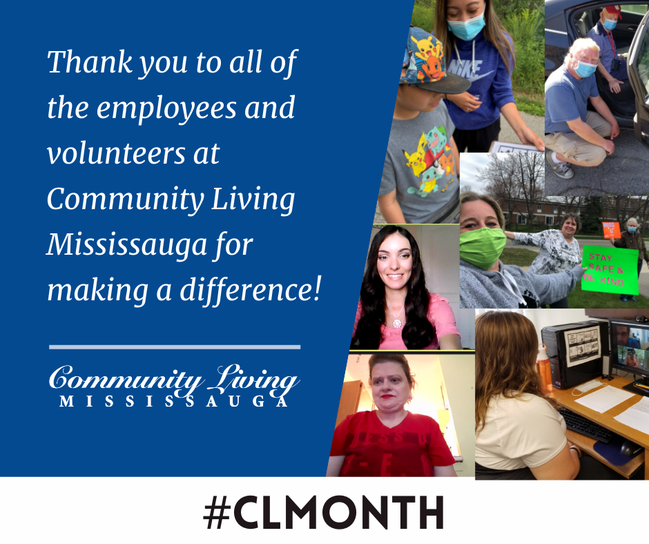 2021 Community Living Month Collage
