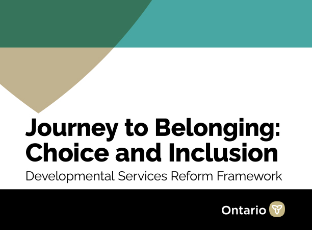 Journey to Belonging: Choice and Inclusion